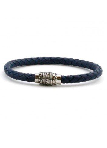 pulsera-cuero-trenzado-redondo-azul-y-cierre-acero-viceroy