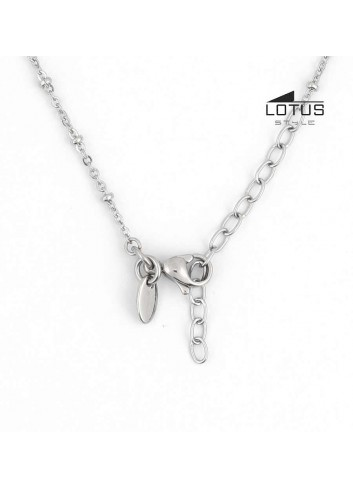 Cruz Lotus con cadena acero LS1660-1-1