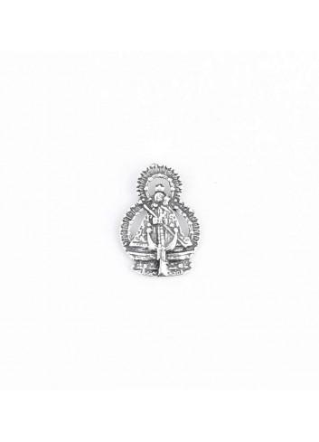 Pin Virgen de la Cabeza silueta metal