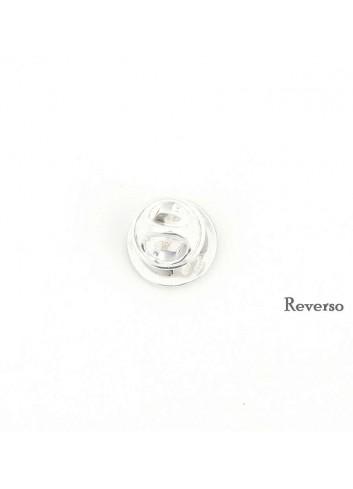 Pin Virgen de la Cabeza circulo metal