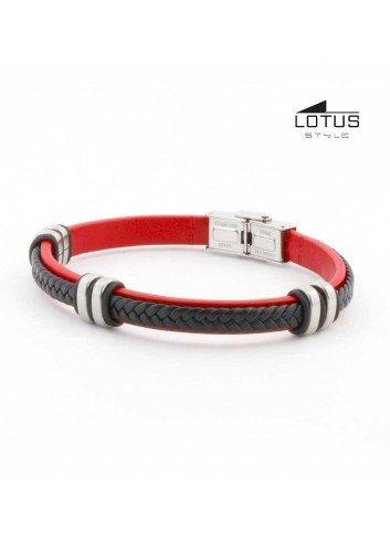 pulsera-lotus-cuero-trenzado-negro-sobre-rojo-ls1829-2-3
