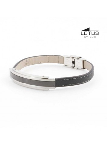 pulsera-lotus-style-acero-brillo-pavonado-cuero-negro-ls1809-2-4