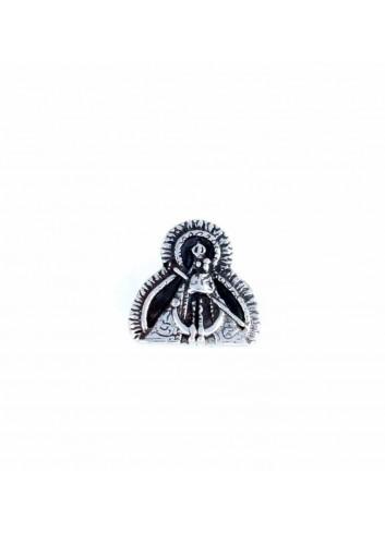 Abalorio Virgen de la Cabeza plata