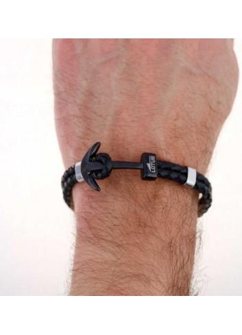pulsera-lotus-ancla-negra-acero-y-cuero-trenzado-negro-ls1832-2-6