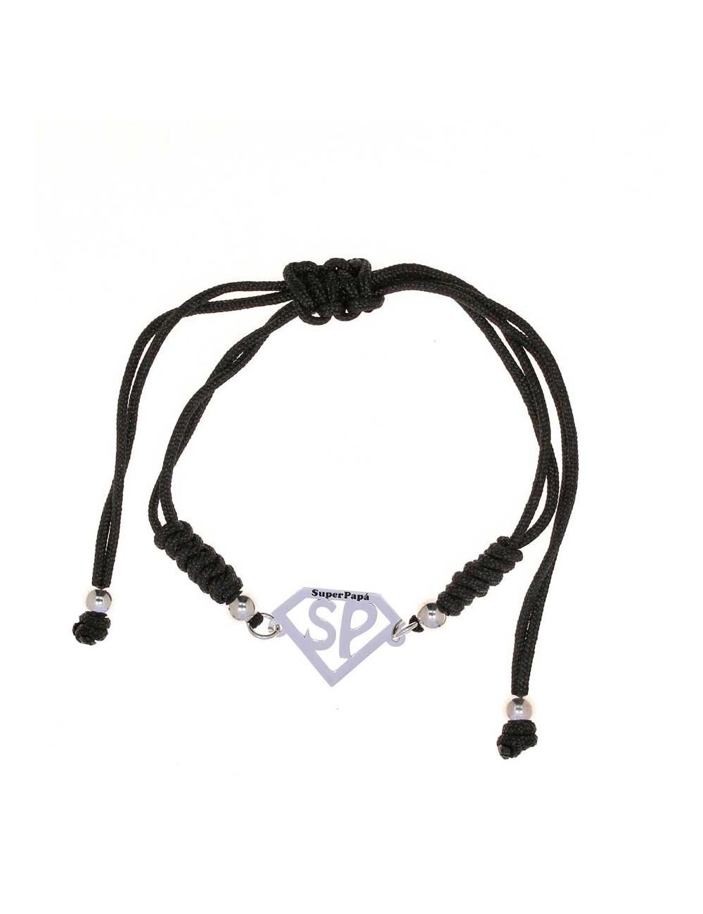 pulsera-sp-calado-plata-cordon-negro-ajustable