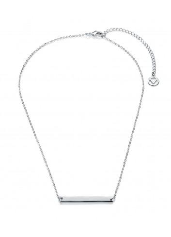 Gargantilla Viceroy Fashion chapa central rectangular 3205C11000