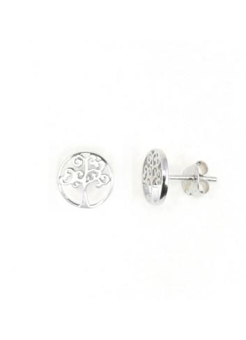 Pendientes Lotus plata arbol de la vida LP1531-4-1