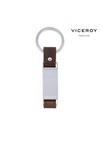 Llavero cuero y acero Viceroy Fashion 6413L09011