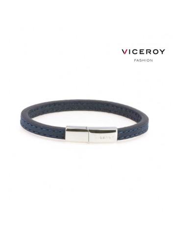 pulsera-viceroy-fashion-cuero-azul-oscuro-pespunte-6426p01013