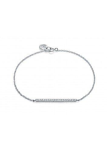 Pulsera Viceroy Jewels barra circonitas plata 5016P000-30