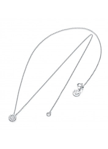 Gargantilla Viceroy Jewels con colgante redondel circonitas plata 7054C000-30