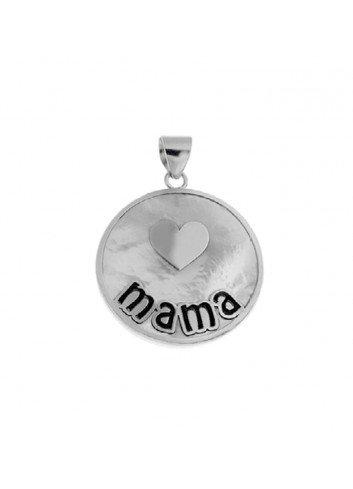 colgante-mama-corazon-nacar-plata-25mm