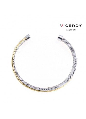 brazalete-viceroy-fashion-acero-y-banda-dorada-80010p19012