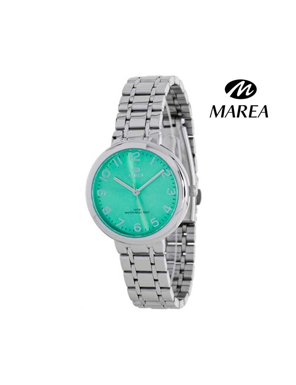 zapatos deportivos 3a64c 2d0ce Reloj Marea mujer cadena B41190-5 verde