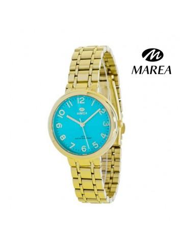 reloj-marea-mujer-cadena-chapado-oro-amarillo-b41190-7-turquesa