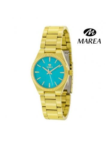 reloj-marea-mujer-cadena-chapado-en-oro-b21169-5-turquesa