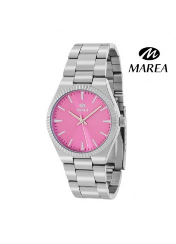 Reloj Marea mujer cadena B21168-4 esfera rosa