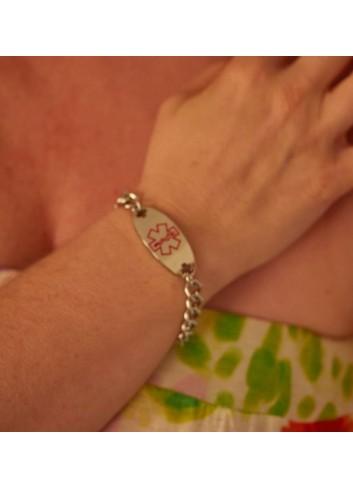 pulsera-alerta-medica-mujer-acero