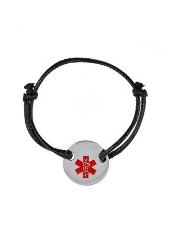 pulsera-alerta-medica-acero-cordon-negro