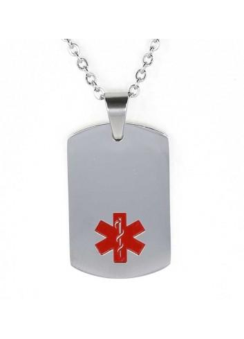 colgante-placa-alerta-medica-acero
