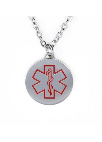 colgante-placa-alerta-medica-acero-redonda