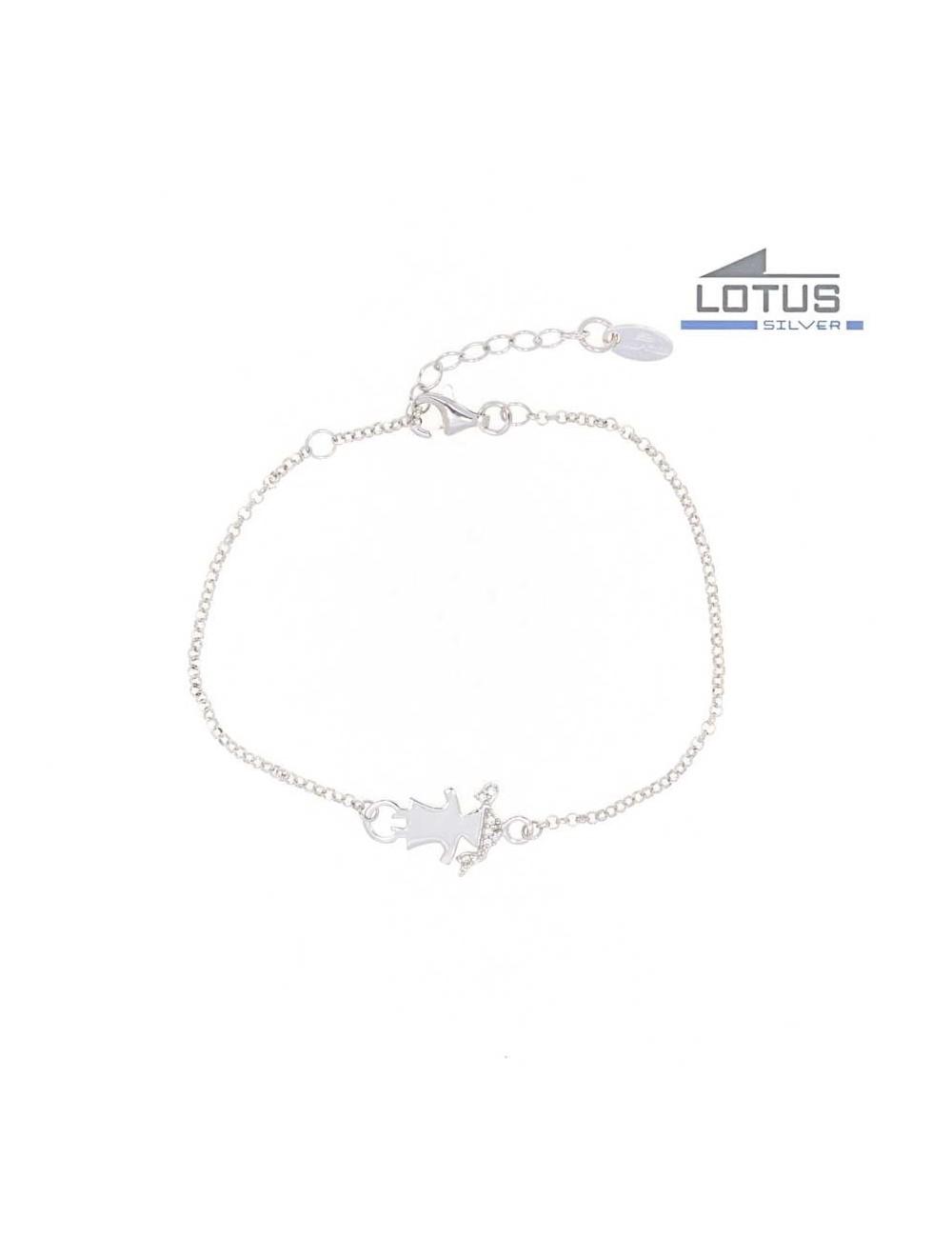 990c35c6224f Pulsera nina circonitas plata Lotus LP1582-2-1
