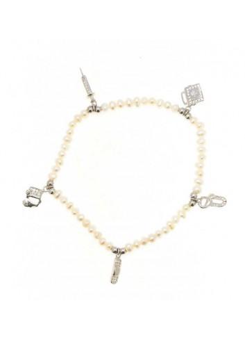 pulsera-de-la-doctora-enfermera-plata-y-perlas