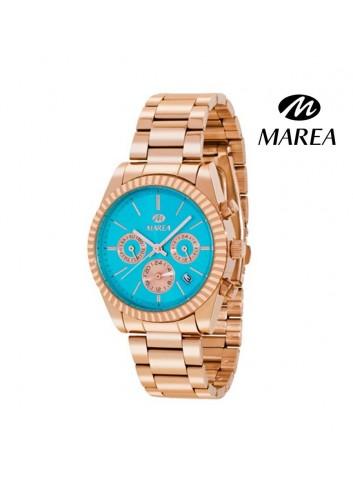 reloj-marea-mujer-cadena-chapado-oro-rosa-b41155-11-multifunciones-turquesa