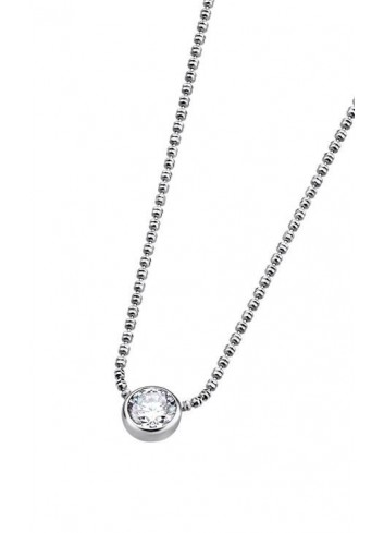 Gargantilla plata con circonita Lotus Silver LP1272-1/1