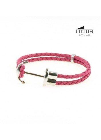 pulsera-ancla-lotus-mujer-acero-y-cuero-trenzado-rosa-ls1881-2-2