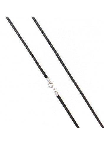 cordon-encerado-45-cm-2mm-negro