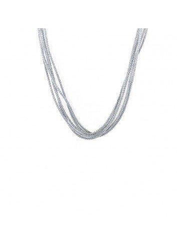 cordon-multihilos-plateado-40-cm para medalla