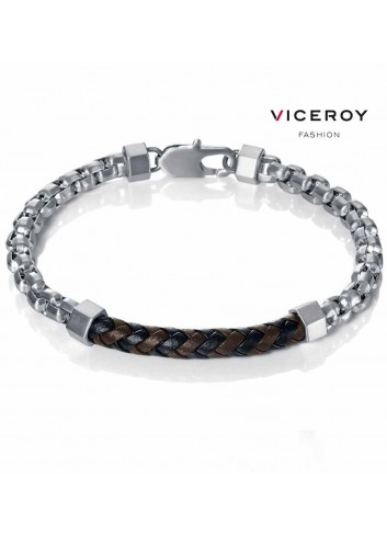pulsera-viceroy-fashion-eslabones-acero-cuero-15001p01010