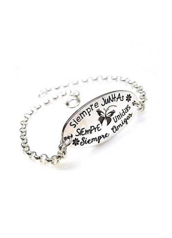 pulsera-siempre-juntas-siempre-unidas-siempre-amigas-plata