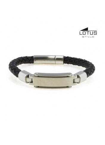 pulsera-lotus-style-hombre-cuero-trenzado-negro-ls1839-2-1