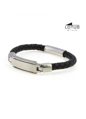 pulsera-lotus-style-hombre-cuero--negro-ls1839-2-1
