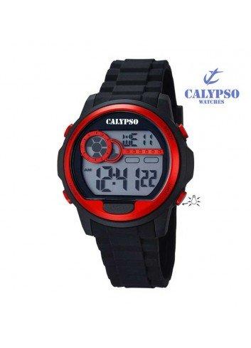 reloj-calypso-hombre-o-nino-digital-silicona-negro-rojo-k5667-2