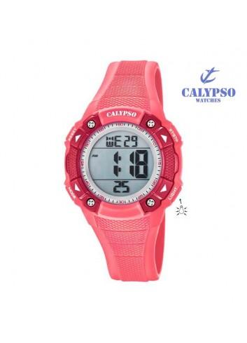 reloj-calypso-nina-digital-caucho-coral-k5728-2