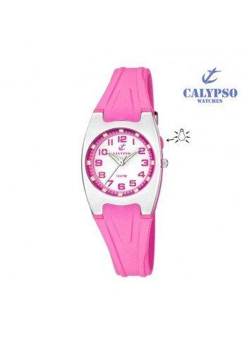 reloj-calypso-goma-rosa-con-luz-k6042-c