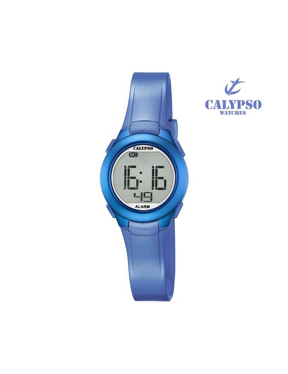 reloj-calypso-digital-goma-azul-k56775
