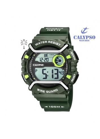 reloj-calypso-hombre-digital-verde-silicona-k5764-5
