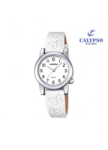 reloj-calypso-nina-correa-blanca-mariposas-k5711-1