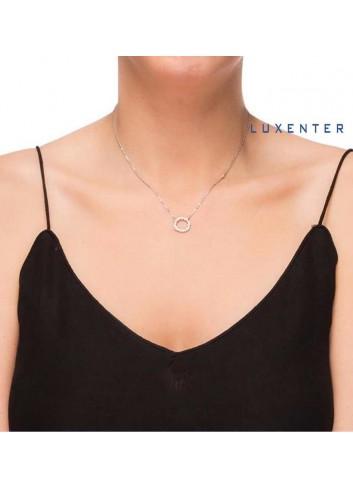 gargantilla-colgante-circulo-circonitas-luxenter-plata