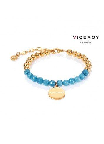 pulsera-super-profe-viceroy-bolas-doradas-y-jade-azul