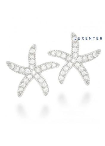 pendientes-luxenter-estrella-de-mar-circonitas-plata