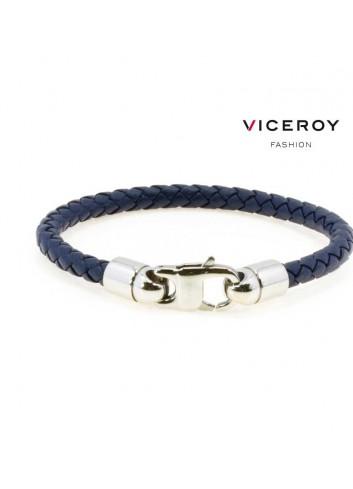 pulsera-viceroy-fashion-cuero-trenzado-azul-oscuro-6444p09013