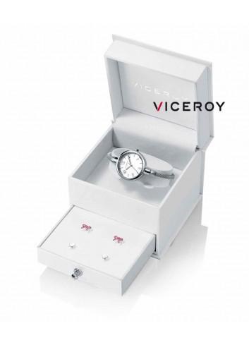 Reloj niña Viceroy malla regalo pendienes