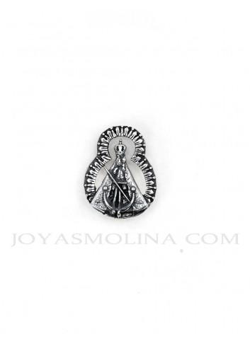Pin Virgen de la Cabeza resplandor