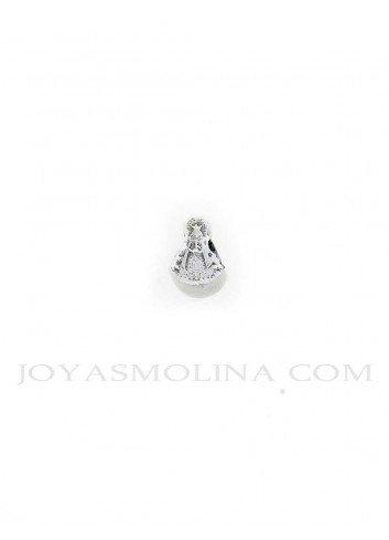 Abalorio Virgen del Rocío plata