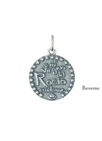 Medalla Virgen del Rocío infantil metal